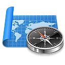 starthere domena mapa kompas