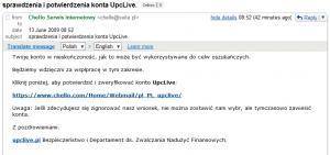 sprawdzenia i potwierdzenia konta UpcLive - Gmail_1244878512363