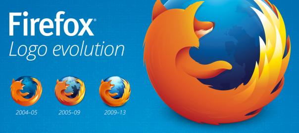 Firefox logo 2013